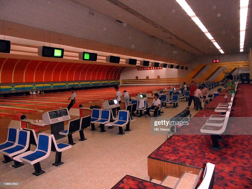 A general view of the Pyongyang Gold Lane Bowling Alley on September 20, 2010 in Pyongyang, North Korea.