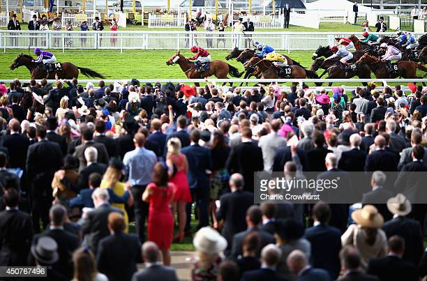 A general view of the racing during day one of Royal Ascot at Ascot Racecourse on June 17 2014 in Ascot England