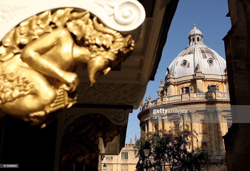 A general view of the Radcliffe Camera building in Oxford city centre as Oxford University commences its academic year on October 8 2009 in Oxford...