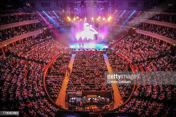 General view of the Rays of Sunshine charity concert at Royal Albert Hall on July 6 2013 in London England
