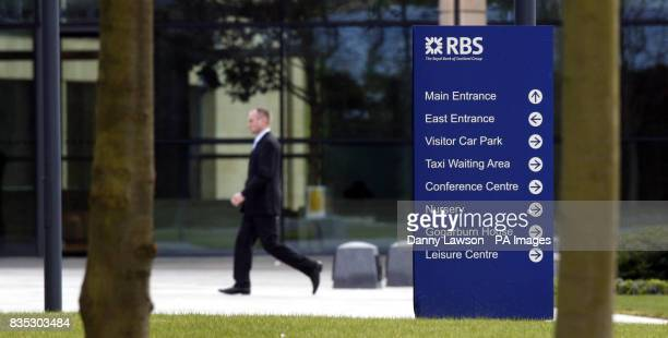 A general view of the RBS Head Quarters near Edinburgh RBS said today that it was consulting unions over plans to cut up to 9000 jobs in the next two...