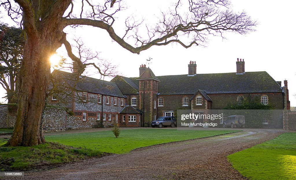 A general view of the rear of Anmer Hall on the Sandringham Estate on January 13, 2013 in King's Lynn, England. It has been reported that Queen Elizabeth II is to give Anmer Hall to Prince William, Duke of Cambridge and Catherine, Duchess of Cambridge to be their country house.