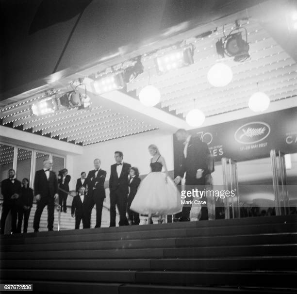 A general view of the red carpet during the 70th Annual Cannes Film Festival on June 1 2017 in Cannes France To celebrate the 70th anniversary of the...