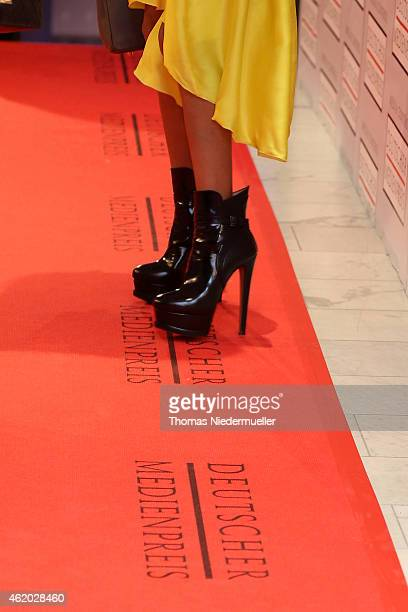 General view of the red carpet during the German Media Award 2014 on January 23 2015 in BadenBaden Germany
