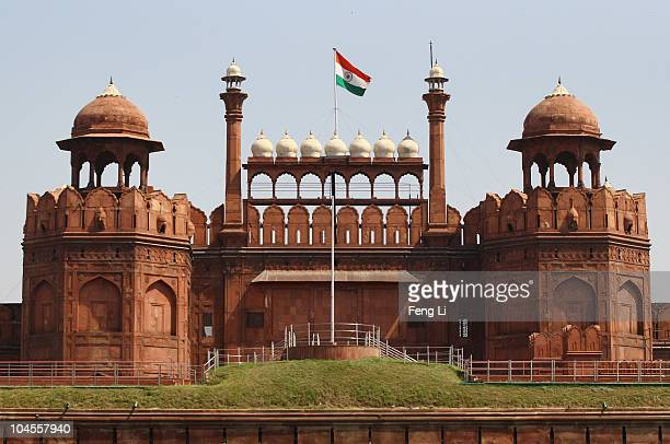 A general view of the Red Fort on September 30 2010 in Old Delhi India