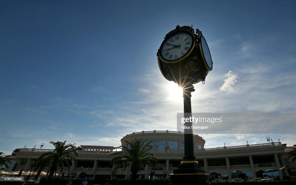 A general view of the redesigned clubhouse prior to the WGC Cadillac Championship at Trump National Doral on March 5, 2014 in Doral, Florida.