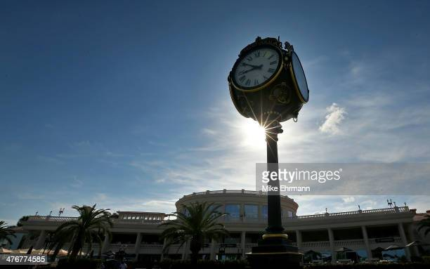 A general view of the redesigned clubhouse prior to the WGC Cadillac Championship at Trump National Doral on March 5 2014 in Doral Florida