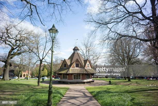 A general view of the Rest House in Bournville Village which was erected to commemorate the Silver Wedding of Mr Mrs George Cadbury by the employees...