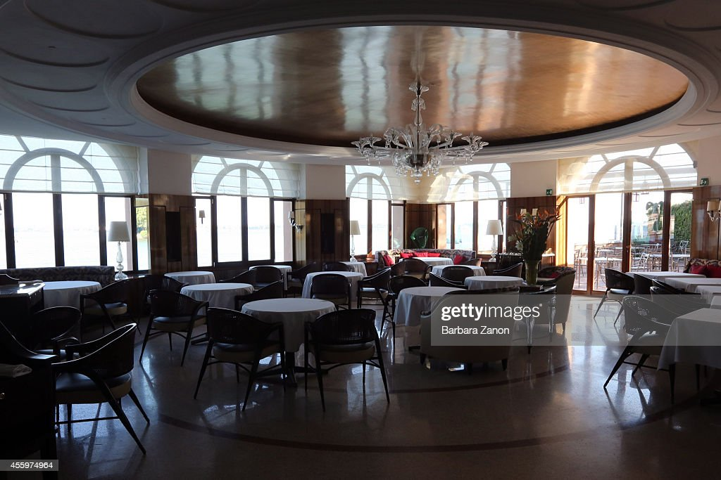 General view of the restaurant of Belmond Cipriani Hotel at Giudecca Island on September 23, 2014 in Venice, Italy. George Clooney is set to marry his lawyer fiancee Amal Alamuddin this weekend in Venice where they met after it was previously thought they would marry on Lake Como where the actor has a home.