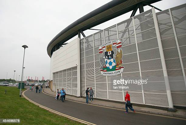 General view of the Ricoh Arena befor the Sky Bet League One match between Coventry City and Gillingham at Ricoh Arena on September 5 2014 in...