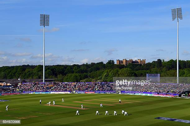 A general view of the Riverside ground during day two of the 2nd Investec Test match between England and Sri Lanka at Emirates Durham ICG on May 28...