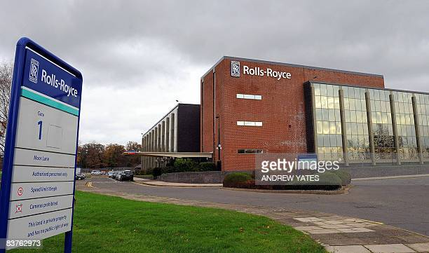 A general view of the Rolls Royce factory is pictured in Allenton Derby in central England on November 20 2008 RollsRoyce the British maker of plane...
