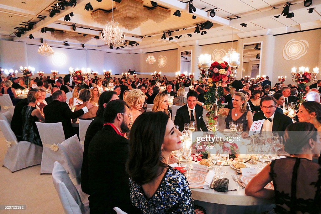 A general view of the Rosenball 2016 on April 30, 2016 in Berlin, Germany.