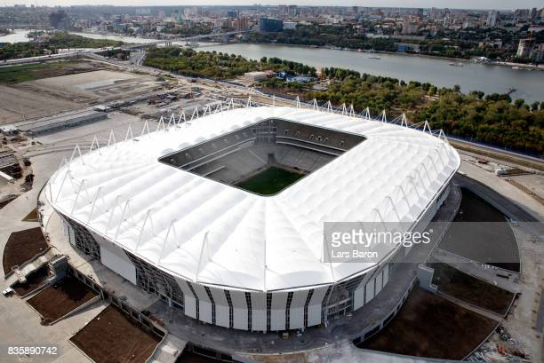 A general view of the Rostov Arena on August 20 2017 in ERostovonDon Russia