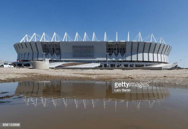 A general view of the Rostov Arena on August 21 2017 in RostovonDon Russia