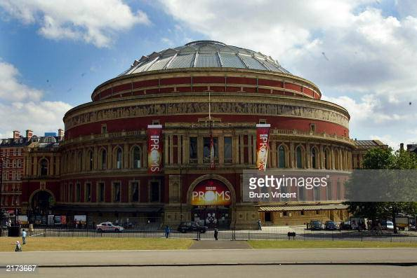 A general view of the Royal Albert Hall July 18 2003 at Kensington Gore in London The venue will stage the BBC Proms which commences this evening