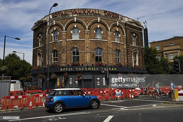 A general view of the Royal Vauxhall Tavern in south London on July 18 2015 London is one of the world's most gayfriendly cities and many LGBT people...