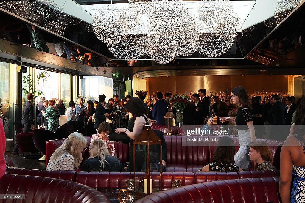 General view of the Rumpus Room Spring Fling at Mondrian London on May 26, 2016 in London, England.