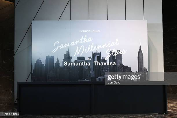 A general view of the Samantha Thavasa Millennial Stars Fashion Event on April 27 2017 in Tokyo Japan