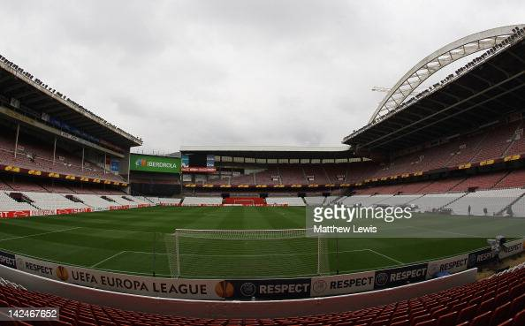 A general view of the Sans Mames stadium on April 5 2012 in Bilbao Spain
