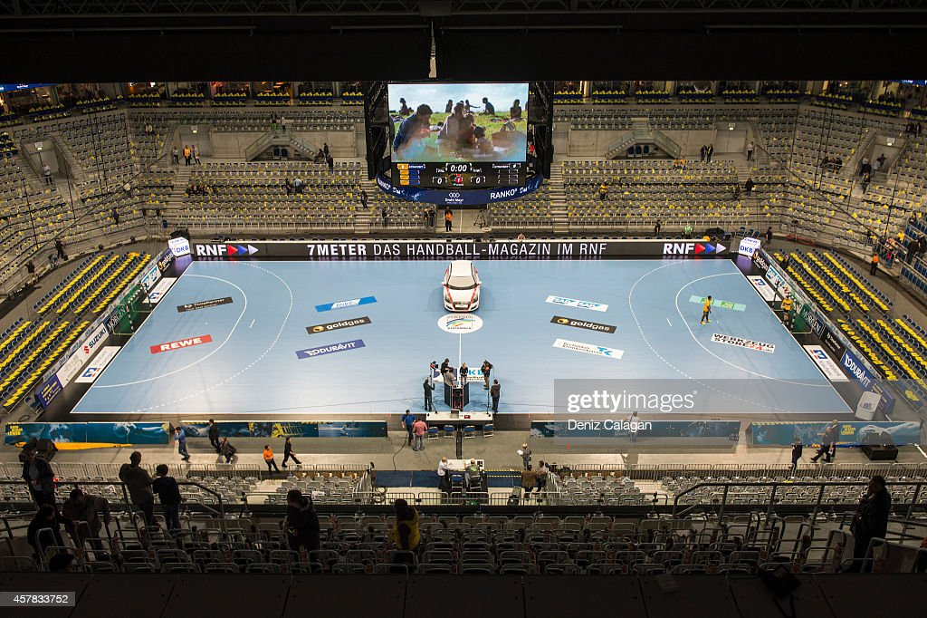 rhein neckar loewen v thw kiel dkb hbl getty images. Black Bedroom Furniture Sets. Home Design Ideas