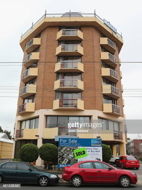 A general view of The Saville Hotel in South Yarra on July 1 2014 in Melbourne Australia It was revealed this hotel will feature in the new series of...