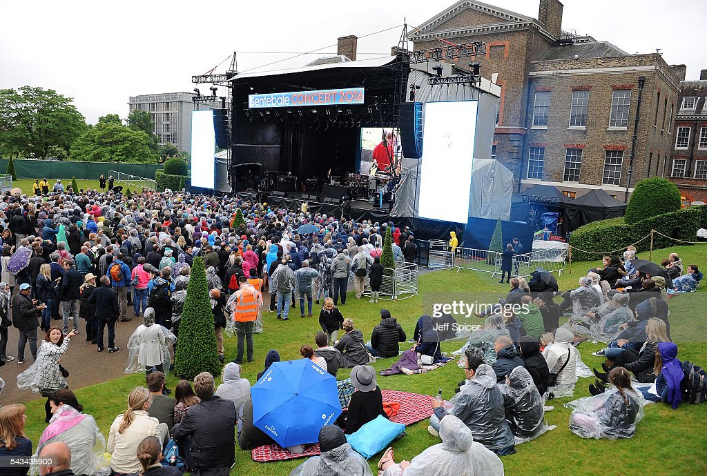 A general view of the Sentebale Concert at Kensington Palace on June 28, 2016 in London, England. Sentebale was founded by Prince Harry and Prince Seeiso of Lesotho over ten years ago. It helps the vulnerable and HIV positive children of Lesotho and Botswana.