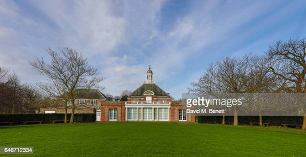 A general view of The Serpentine Gallery on March 1 2017 in London England