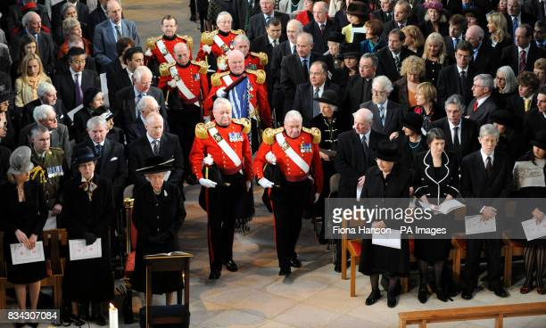General view of the service of Thanksgiving for the life of Sir Edmund Hillary at St George's Chapel Windsor