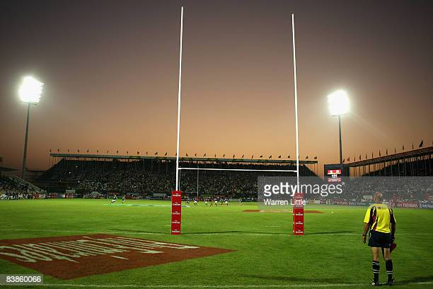 General view of The Sevens stadium during the final day of the Emirates Airline Dubai Sevens at The Sevens on November 29 2008 in Dubai UAE