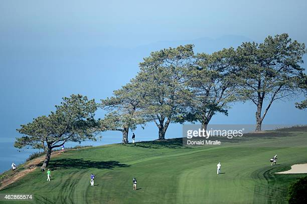 A general view of the seventh fairway on the north course during round two of the Farmers Insurance Open at Torrey Pines Golf Course on February 6...