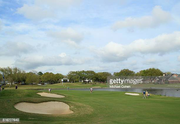 A general view of the seventh hole during the first round of the Chitimacha Louisiana Open presented by NACHER held at Le Triomphe Golf and Country...