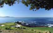 A general view of the seventh hole during the second round of the ATT Pebble Beach National ProAm at the Pebble Beach Golf Links on February 11 2011...