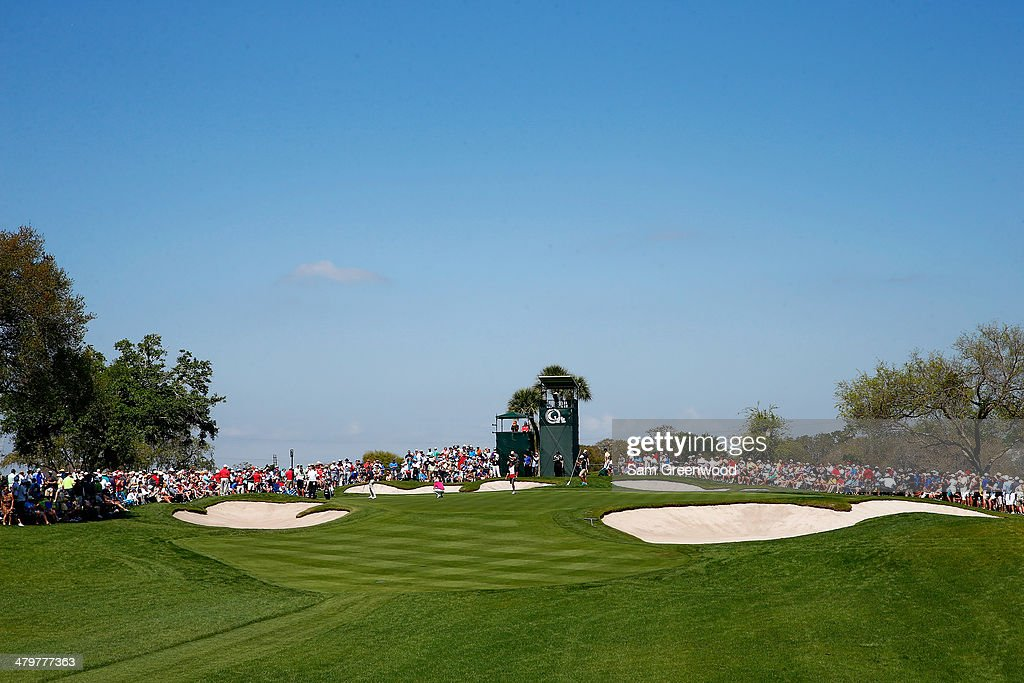 A general view of the seventh hole green is seen during the first round of the Arnold Palmer Invitational presented by MasterCard at the Bay Hill Club and Lodge on March 20, 2014 in Orlando, Florida.