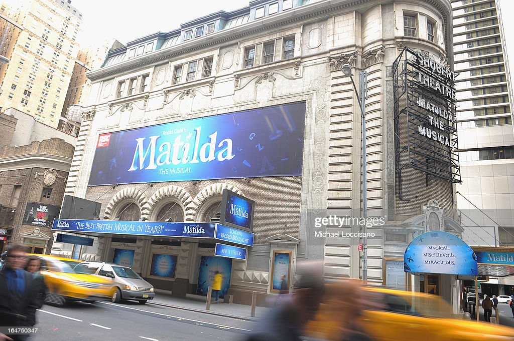 A general view of the Shubert Theatre on March 22, 2013 in New York City.