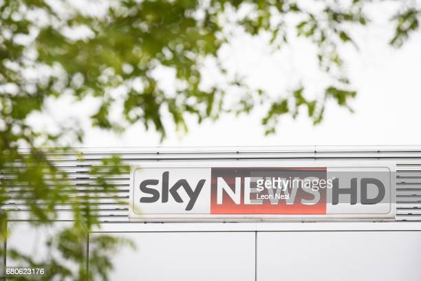 A general view of the SKY News studios at the SKY headquarters in Isleworth on May 9 2017 in London England The independent communications regulator...