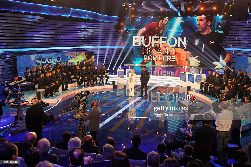 A general view of the 'Sogno Azzurro' TV programme at Auditorium del Foro Italico on May 31, 2016 in Rome, Italy.