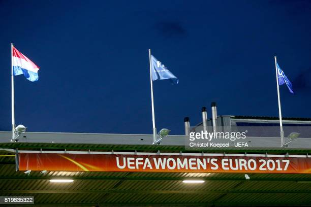 General view of the Sparta Stadion during the UEFA Women's Euro 2017 Group A match between Netherlands and Denmark at Sparta Stadion on July 20 2017...