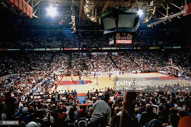A general view of the Spectrum during the 1996 NBA season in Philadelphia Pennsylvania NOTE TO USER User expressly acknowledges that by downloading...