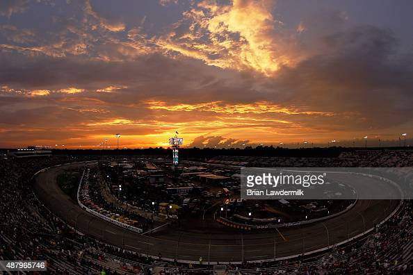 A general view of the speedway prior to the NASCAR Sprint Cup Series Federated Auto Parts 400 at Richmond International Raceway on September 12 2015...