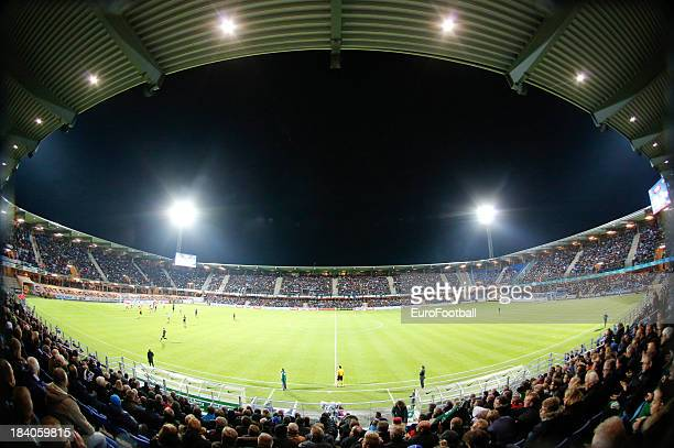General view of the Sport og Event Park Esbjerg home of Esbjerg fB taken during the UEFA Europe League group stage match between Esbjerg fB and FC...