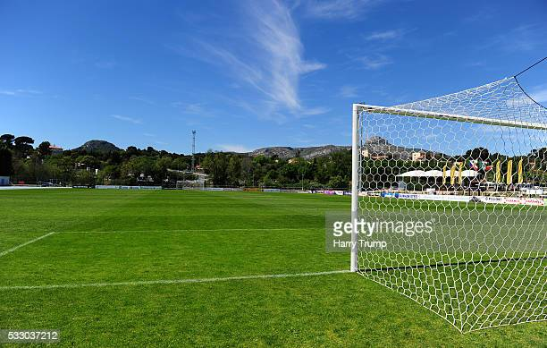 General view of the Stade De Lattre during the Toulon Tournament match between Mexico and Czech Republic at Stade De Lattre on May 20 2016 in Aubagne...