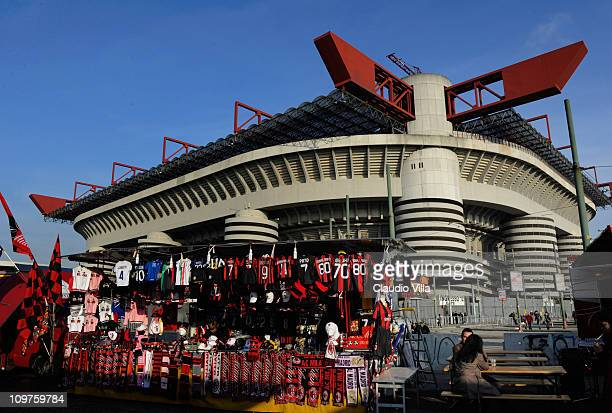 A general view of the Stadio Giuseppe Meazza taken on November 03 2010 in Milan Italy