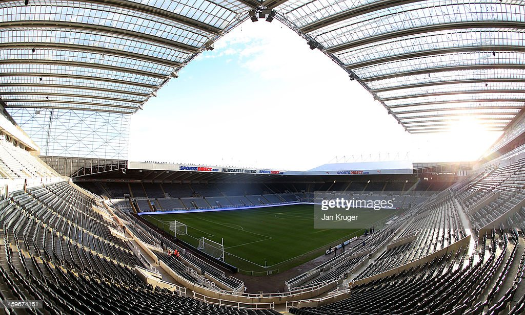 General view of the stadium ahead of the Barclays Premier League match between Newcastle United and Arsenal at St James' Park on December 29, 2013 in Newcastle upon Tyne, England.