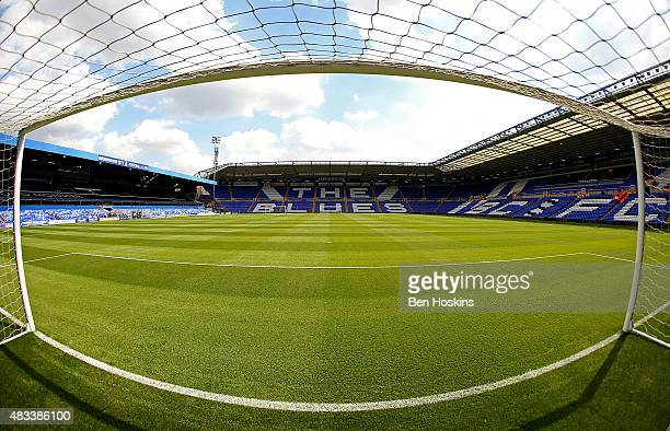 A general view of the stadium ahead of the Sky Bet Championship match between Birmingham City and Reading at St Andrews Stadium on August 8 2015 in...