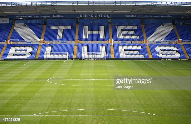 A general view of the stadium ahead the Sky Bet Championship match between Birmingham City and Queens Park Rangers at St Andrews Stadium on March 8...