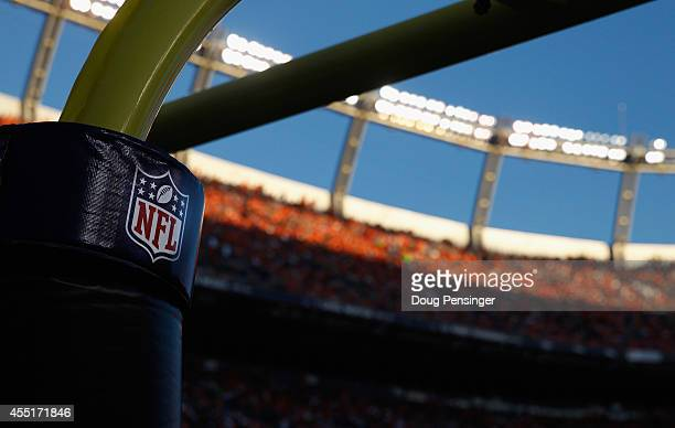A general view of the stadium as the Indianapolis Colts face the Denver Broncos at Sports Authority Field at Mile High on September 7 2014 in Denver...