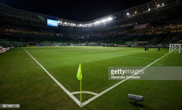 General view of the stadium before the match between Palmeiras and Atletico Tucuman for the Copa Bridgestone Libertadores 2017 at Allianz Parque...