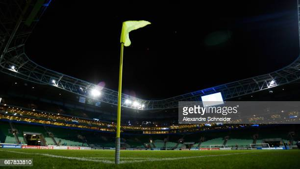 General view of the stadium before the match between Palmeiras of Brazil and Penarol of Uruguay for the Copa Bridgestone Libertadores 2017 at Allianz...