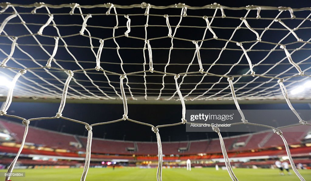 General view of the stadium before the match between Sao Paulo and Fluminense for the Brazilian Series A 2016 at Morumbi stadium on June 29, 2016 in Sao Paulo, Brazil.